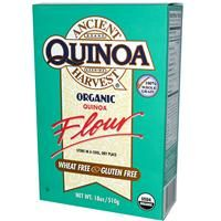 Ancient Harvest, Organic, Quinoa Flour (Gluten, wheat and all top 8 allergen free)