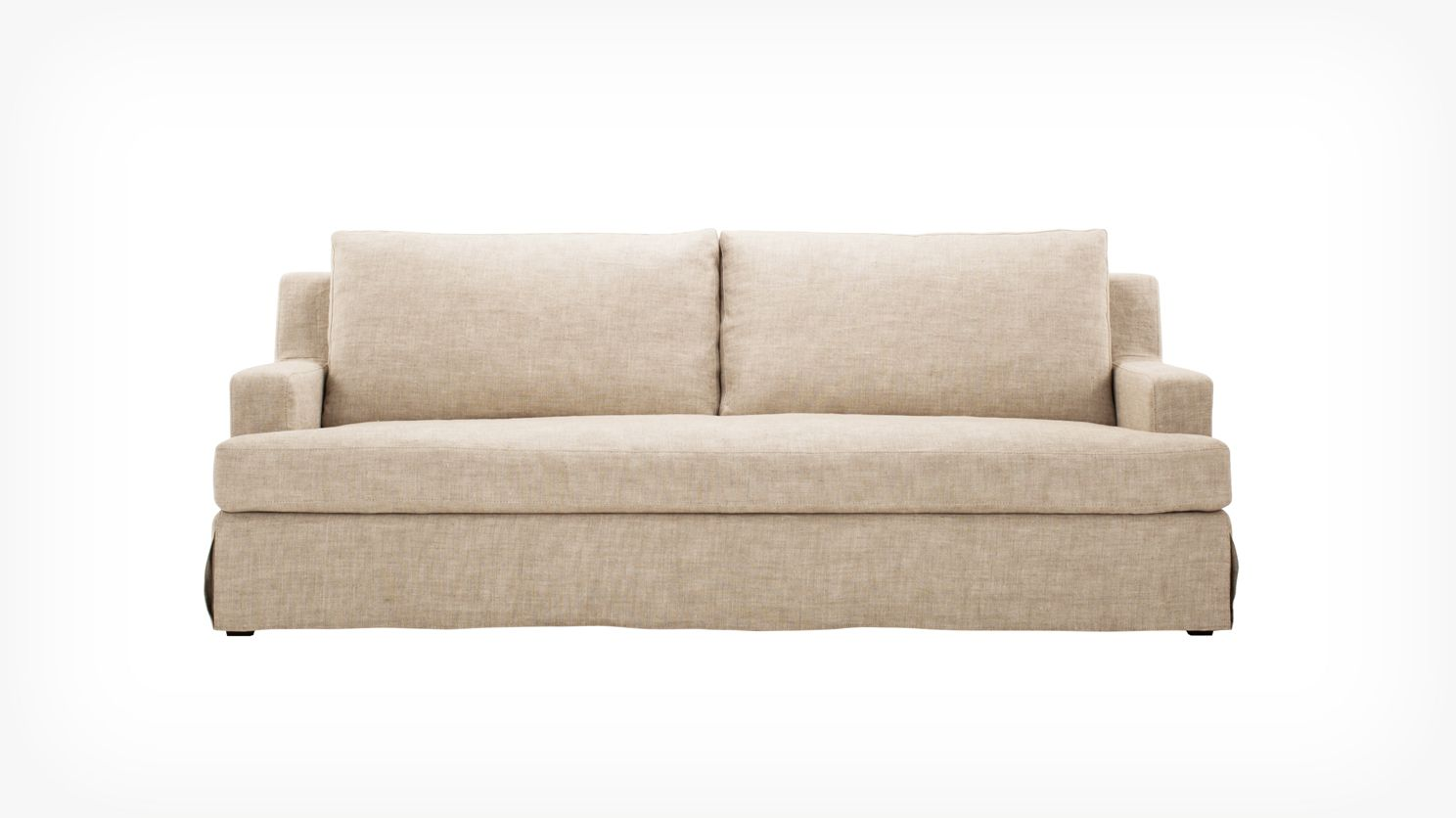 Blanche slipcover sofa eq3 modern furniture
