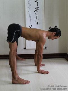 yoga poses resting the back musclesusing the arms to
