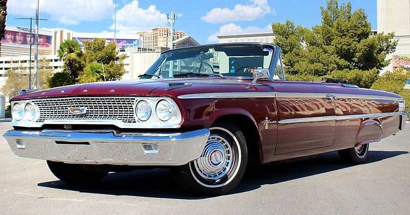 1963 Ford Galaxie 500 Xl Convertible 352 V8 Wimbledon White Ford Galaxie Ford Galaxie 500 Galaxie