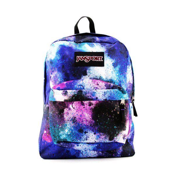 Galaxy tie-dye backpack. - Jansport backpack $30.00 . WANT IT ...
