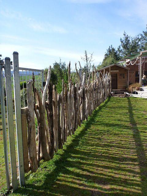 Beautiful natural outdoor environment fence hier kommt - Einsatz in 4 wanden ideen ...