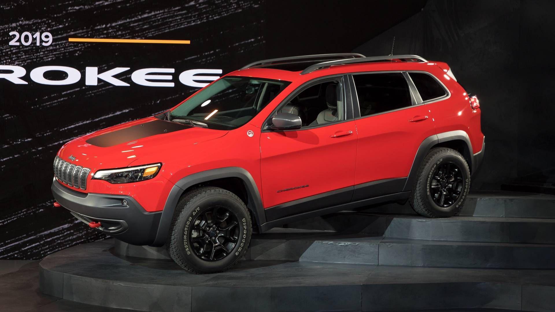 2019 Jeep Cherokee Debut Motor1 Com Photos Jeep Cherokee Sport