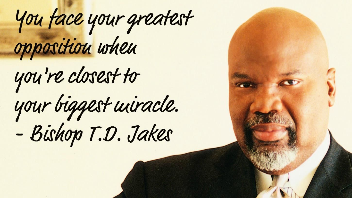 Td Jakes Quotes On Men. QuotesGram
