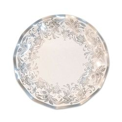 Grab these Traditional Silver Large Plates and match your party tableware to your anniversary theme party.  sc 1 st  Pinterest : large disposable plates - pezcame.com