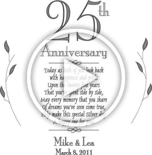 25th anniversary poems for cards  Google Search