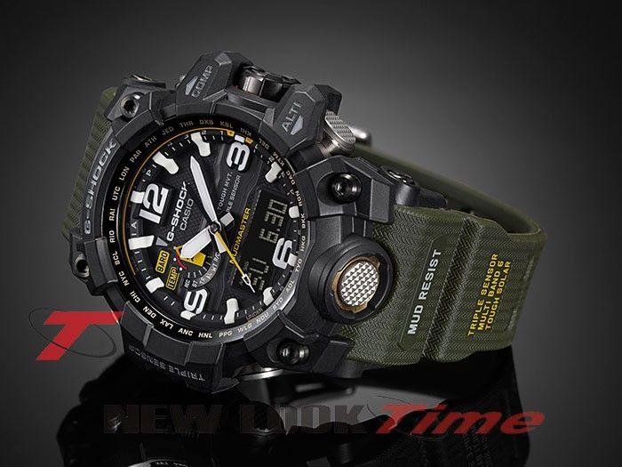 36132772ec1 Relógio CASIO G-Shock Mudmaster GWG-1000-1A3 Tough Solar - New Look Time