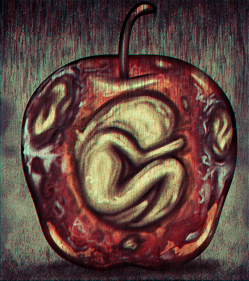 Drawing Rotten Fruit Step By Step Concept Art Fantasy Free Online Drawing Tutorial Added By Dawn October 19 2 Rotten Fruit Fruits Drawing Fruit Painting