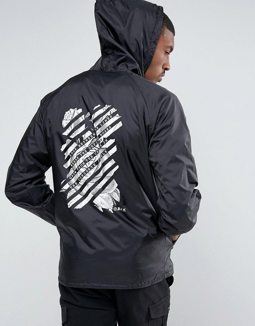 OBEY Bomber Jacket With Back Print