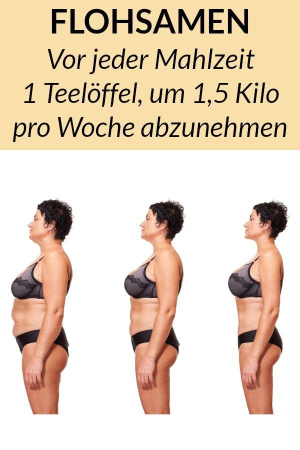 Abnehmen mit Flohsamenschalen – Verliere 6 Kilo in 4 Wochen