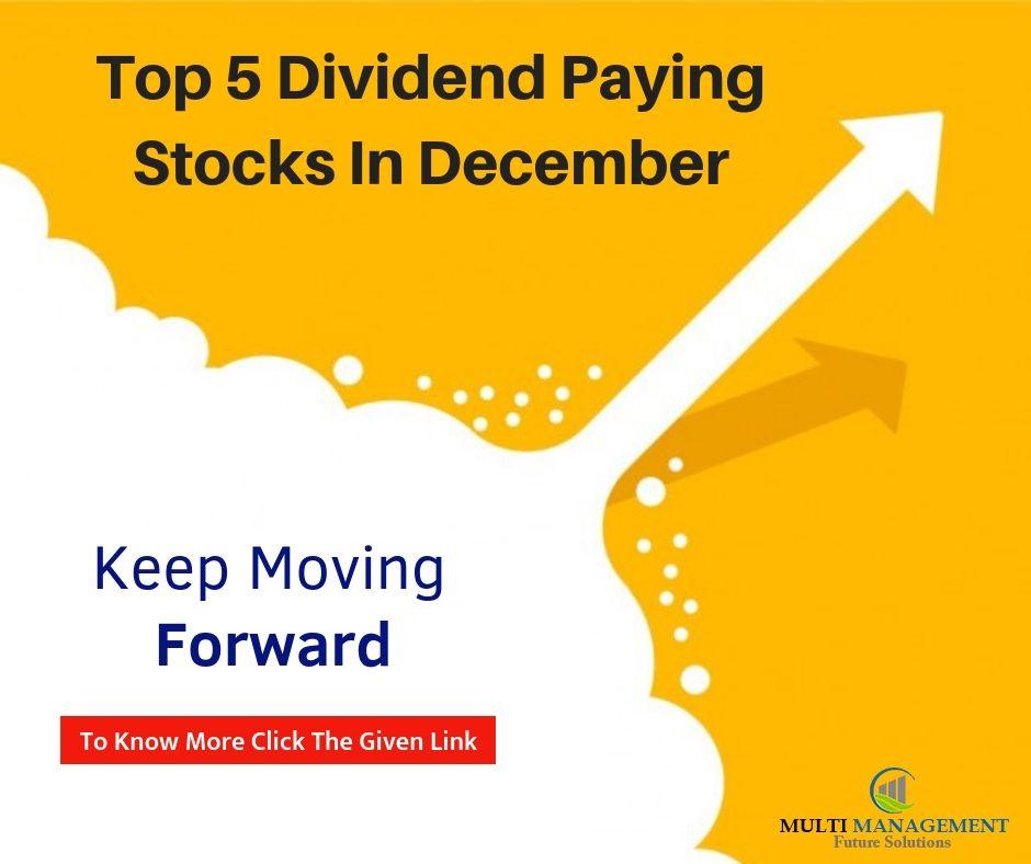 Klse Top 5 Dividend Paying Stocks In December Stock Market