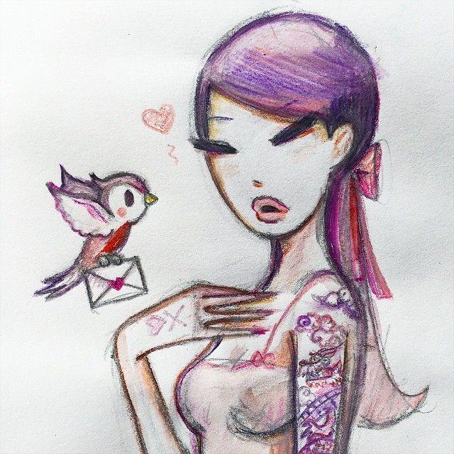 """""""#Love letter. @tokidokibrand """"#Love letter. @tokidokibrand"""