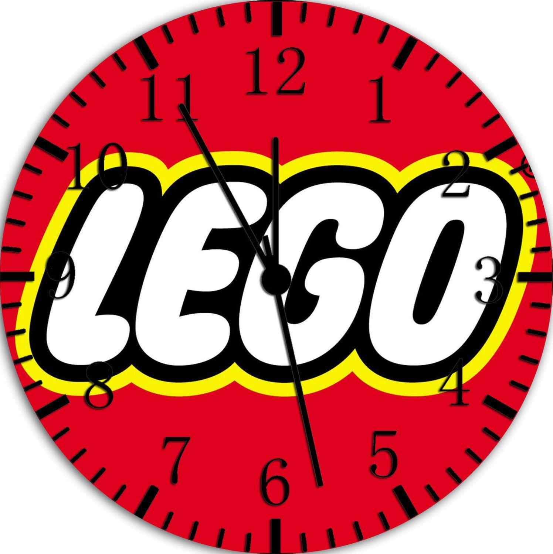 Lego Room Decor Lego Wall Clock 10 Room Decor W430 By