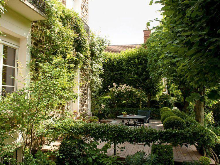 En pleine banlieue parisienne, ce jardin de ville a pour ...