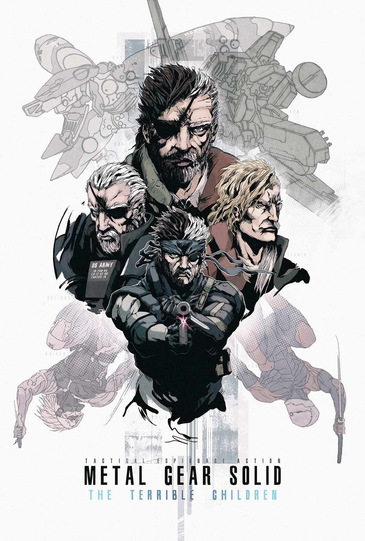 Artstation Metal Gear Solid Fan Art Ali Glen Metal Gear Solid Metal Gear Metal Gear Series