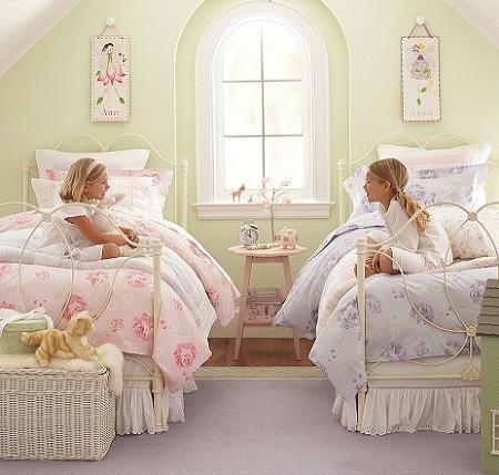 decoracin de dormitorios infantiles tipo princesa