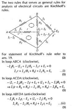electrical principles kirchhoffs laws biology essay Unit 402 principles of electrical/electronic engineering lesson 16 & 17: solve transient response of first-order circuits suggested teaching time: 2 hours approx learning outcome: be able to solve the transient response of first-order circuits.