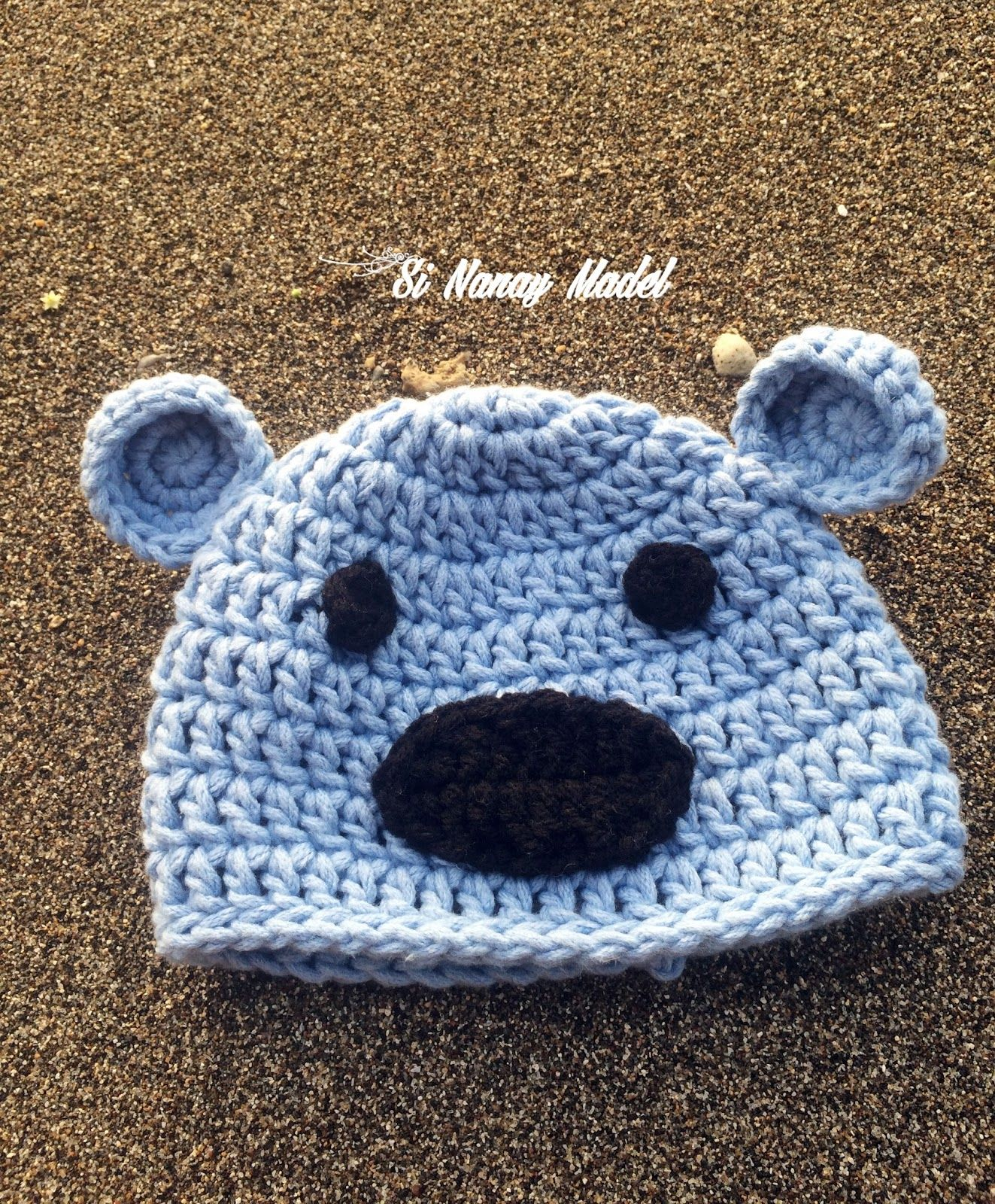 Newborn Hat and Booties ( boy) | Gorros