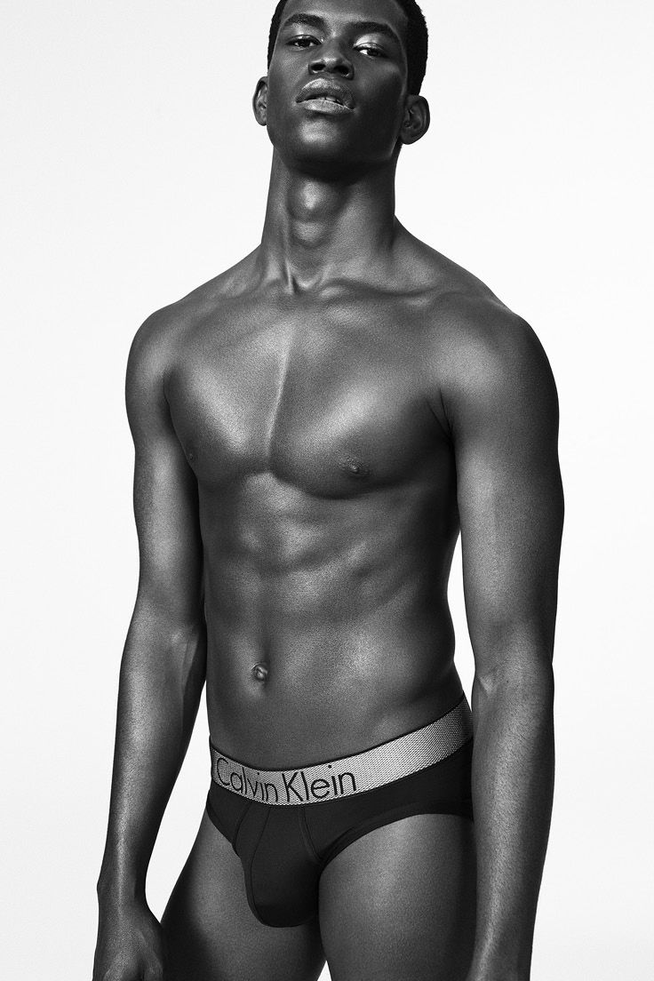 7bab4aa5edba Model Salomon wears the new Customized Stretch micro hip brief from Calvin  Klein Underwear. #mycalvins