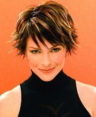 Edgy and swanky short hair with highlights short hair short edgy and swanky short hair with highlights pmusecretfo Image collections