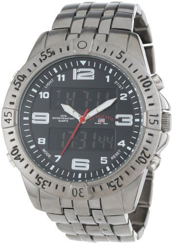 u s polo assn classic men s us8496 gunmetal tone analog digital u s polo assn classic men s us8496 gunmetal tone analog digital watch