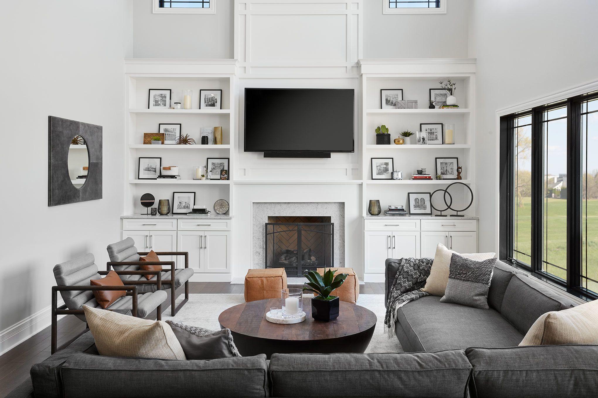 Modern Living Room in 2020 Luxe living room, Living room