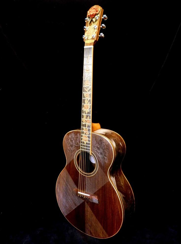 custom made blueberry all rosewood floral acoustic jumbo guitar beautiful acoustic guitars. Black Bedroom Furniture Sets. Home Design Ideas
