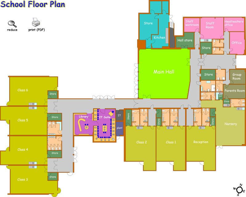 School Floor Plan Design Gurus Floor