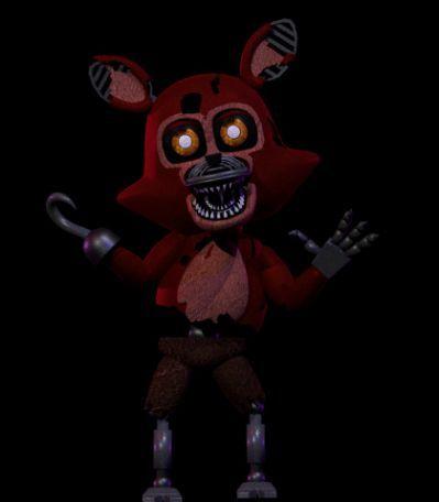 Accurate Adventure Nightmare Foxy | FNAF Birthday