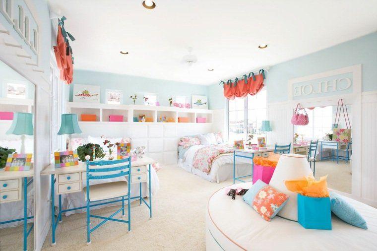 Peinture chambre enfant en 50 idées colorées