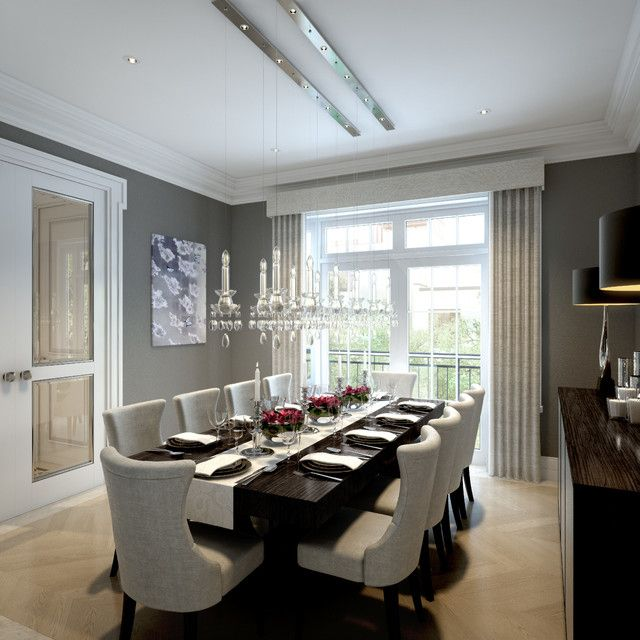 Decorative Large Dining Room Table On Houzz