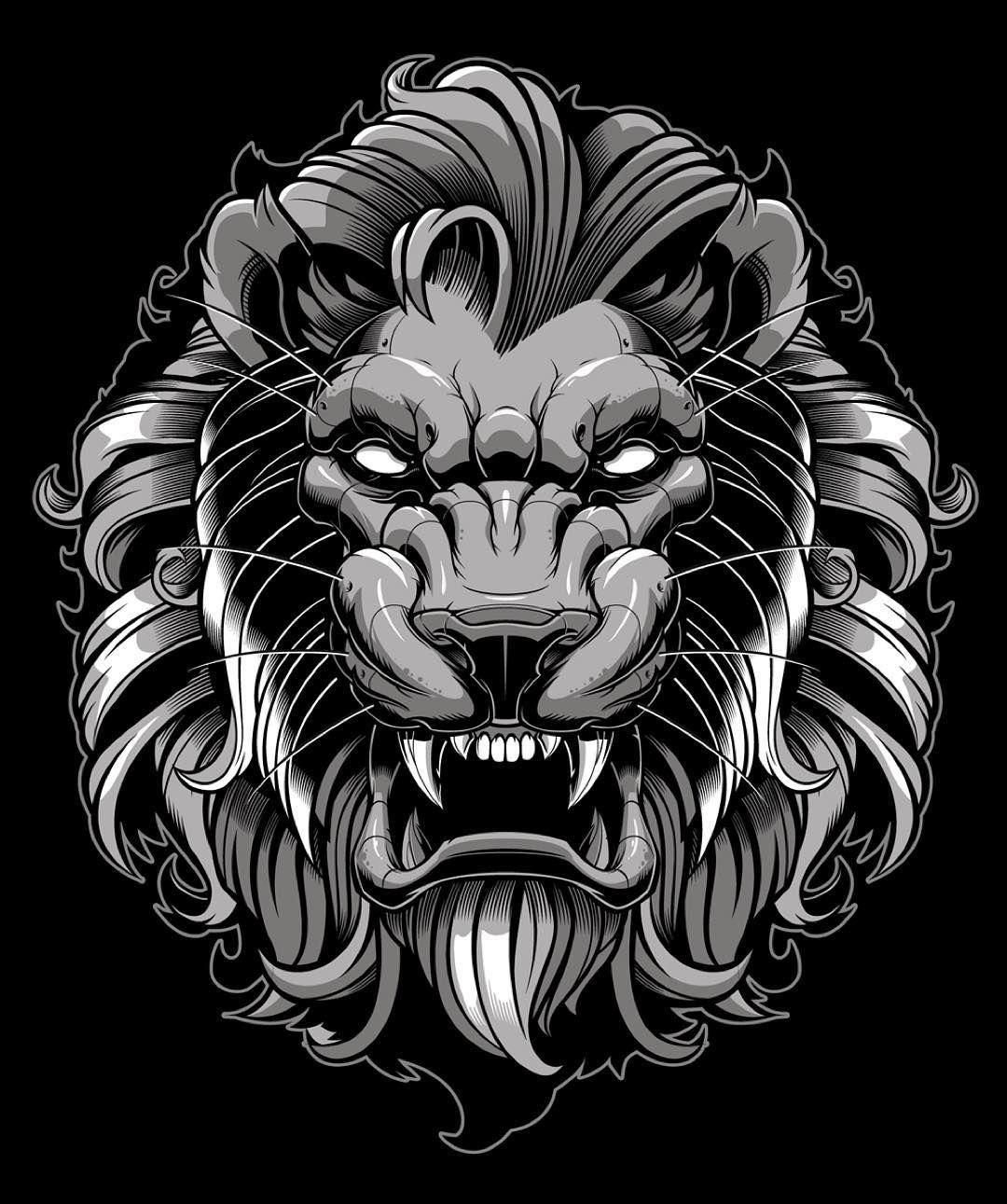 реально тату голова льва картинки они никогда
