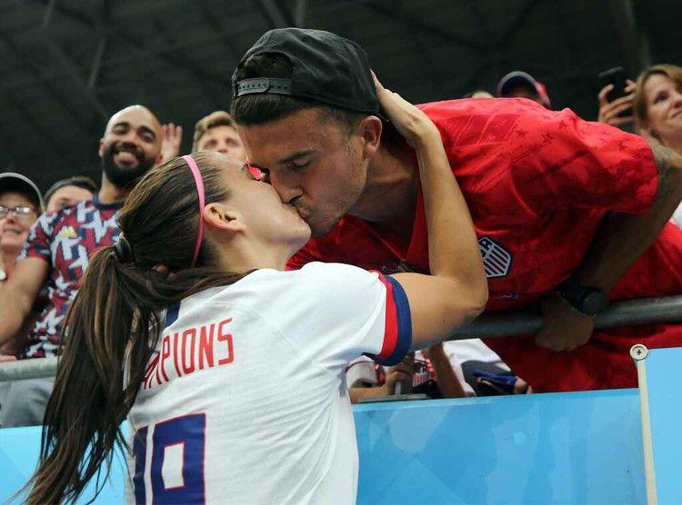 Why Alex Morgan and Servando Carrasco Win Soccer's Cutest Couple