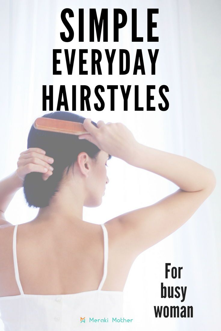 Quick and easy mom hairstyles family time pinterest hair