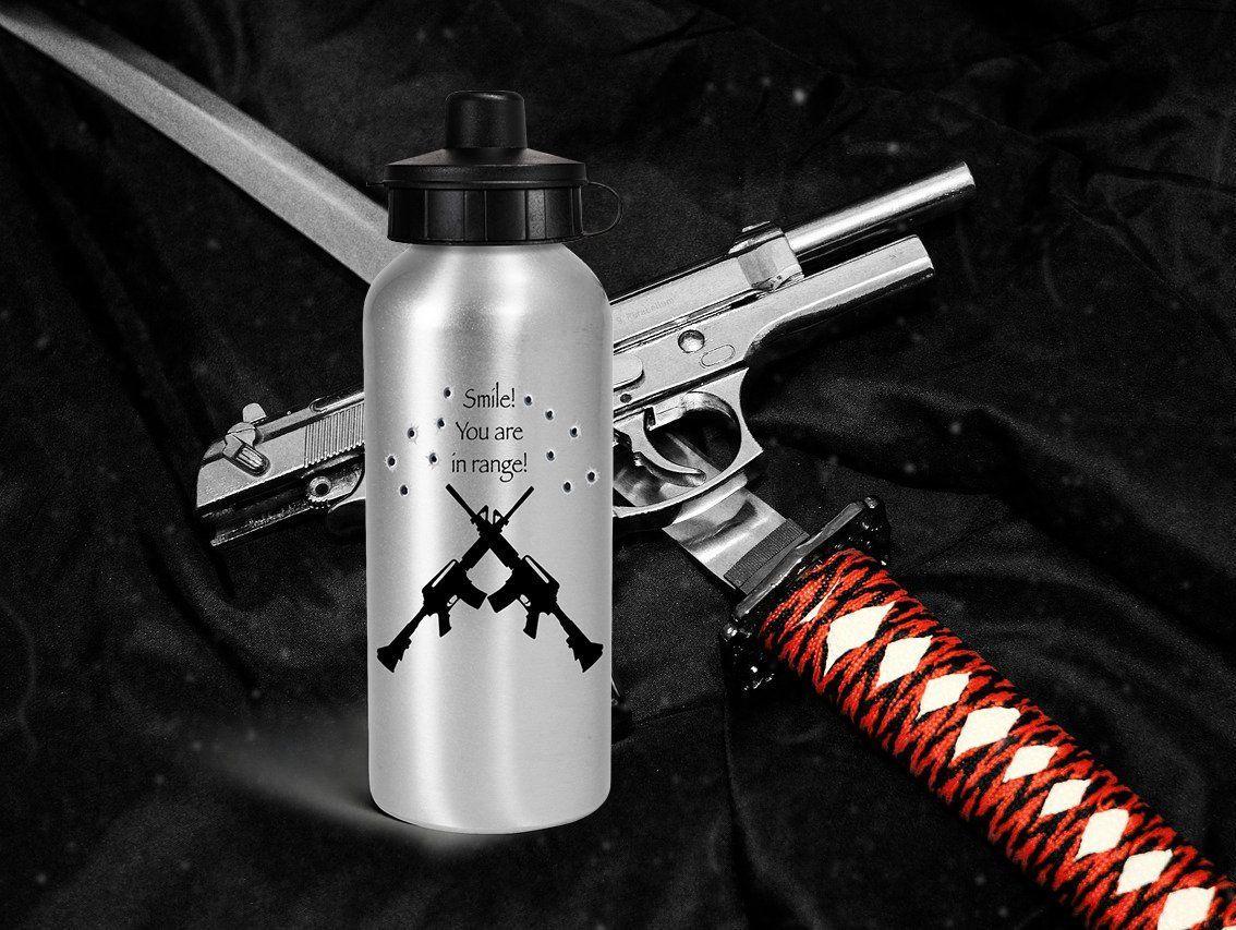 DEPLOYMENT GIFT custom water bottle, USMC gifts for
