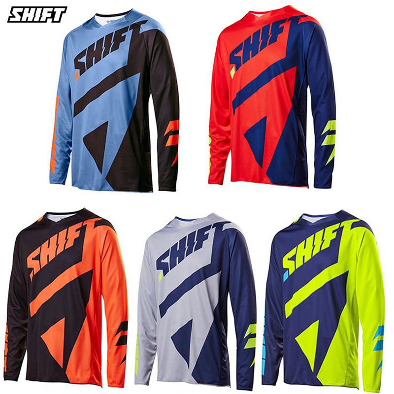 New speed to overcome racing t shirt long sleeve mountain bike Jersey  jacket men summer Motocross 2c7f5e328