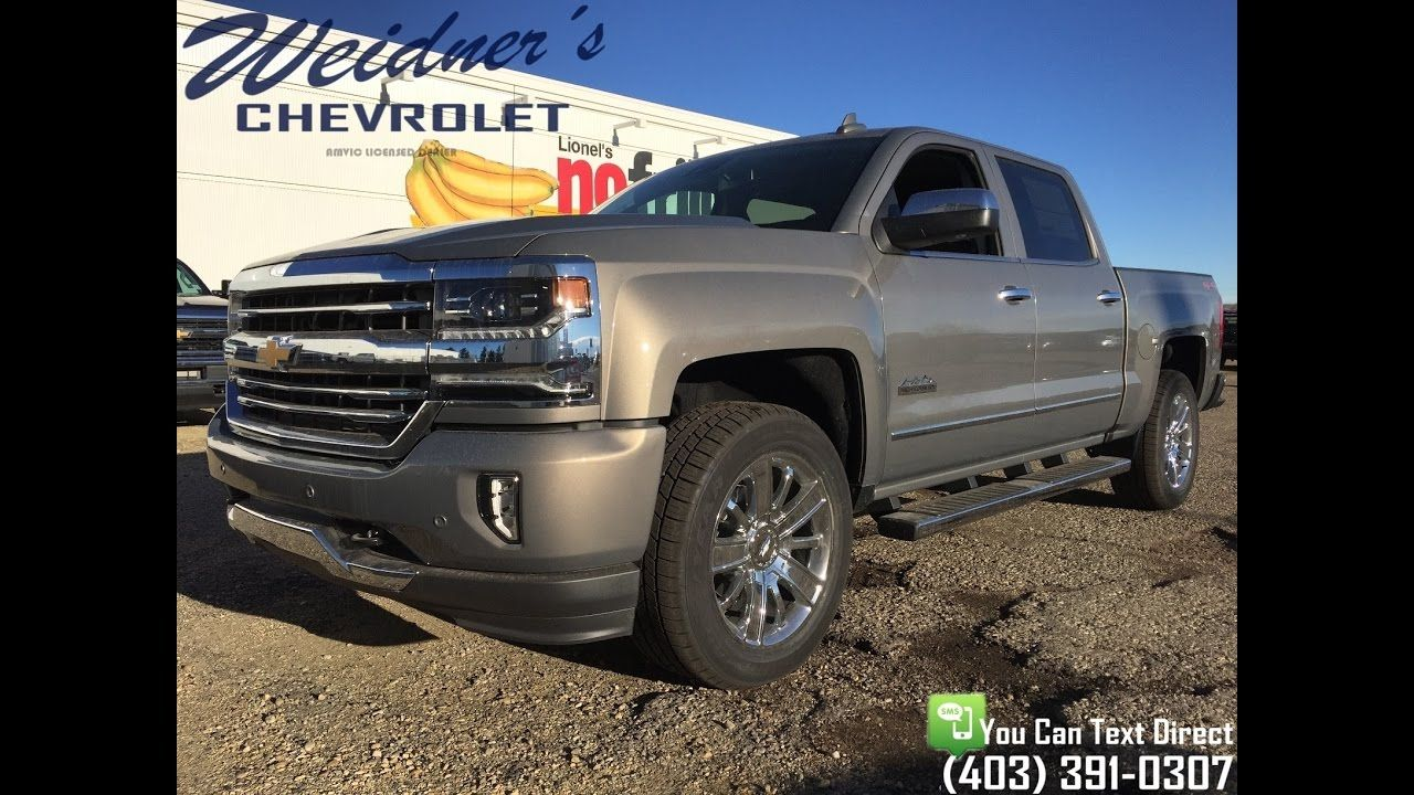 New 2017 Chevrolet Silverado 1500 3lz High Country Crew Cab Short Box Chevrolet Silverado 2017 Chevrolet Silverado 1500 Chevrolet