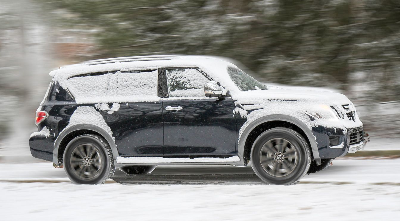 2018 Nissan Armada Review Big Thirsty And Sales Are Through The Roof Nissan Armada Nissan Armada