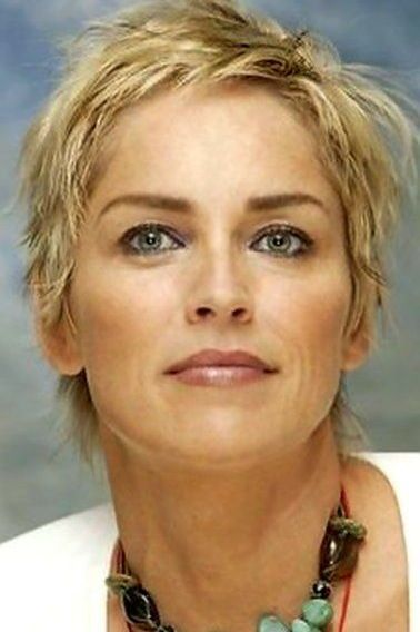 Sharon Stone Kapsels Funky Kapsels Kort Haar Kapsels
