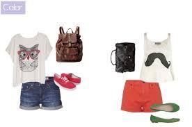 Resultado de imagem para roupas para ir a escola
