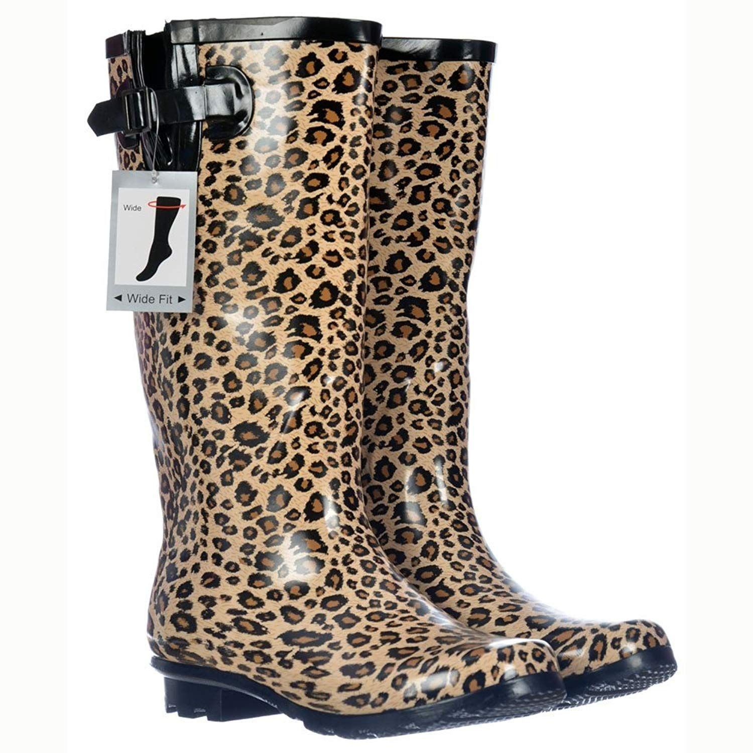 015c8a3bff1 Onlineshoe Women s Wide Calf Festival Rain Boots    You can get more  details by clicking on the image. (This is an affiliate link)