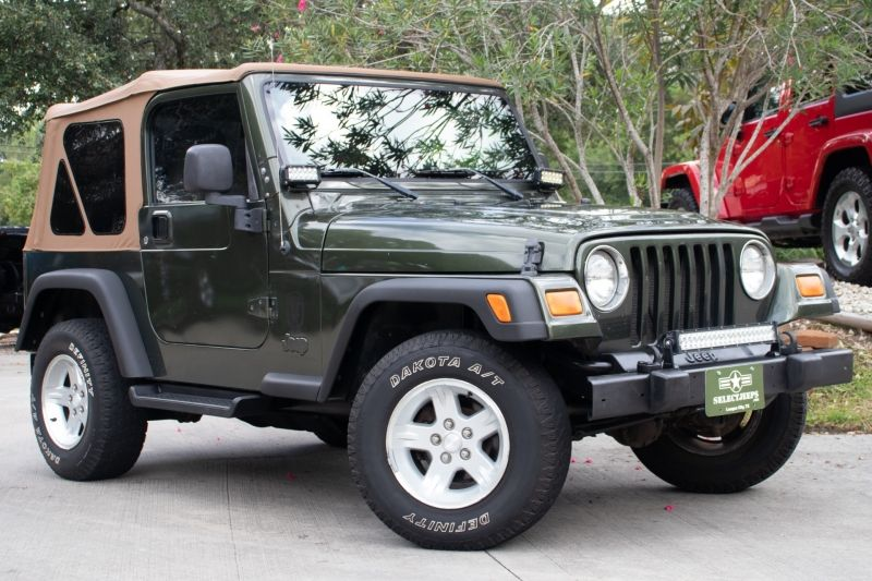 Jeep Green 2006 Jeep Wrangler Sport 13995 2006 jeep