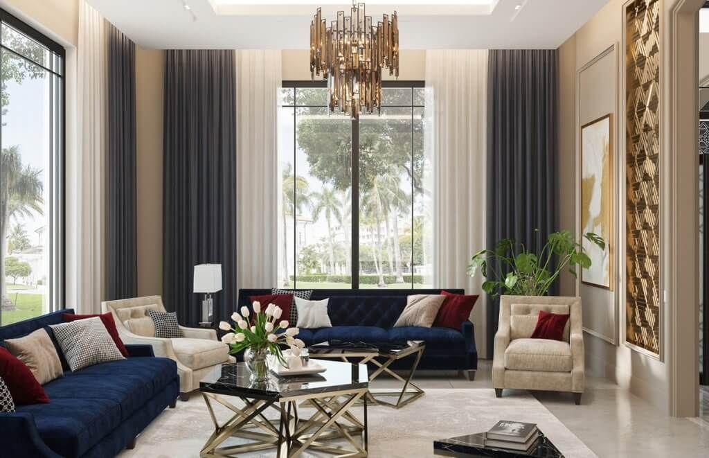 Modern Classic House Interior Design Dammam Saudi Arabia Cas Modern Exterior House Designs Modern Contemporary House Plans Classic House Interior Design