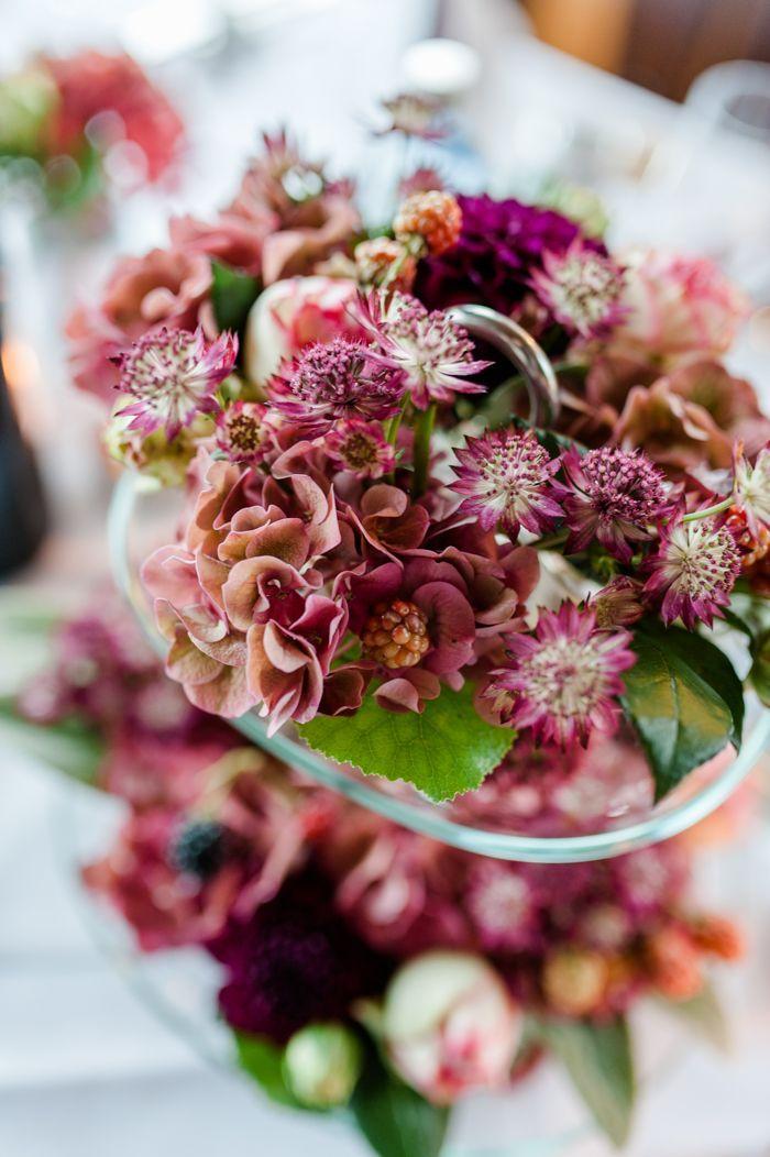 Hochzeit in Beerenfarben  Maria und Herbert  Flowers