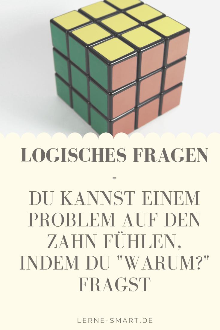 Logische Fragen Eine Lernmethode Lerne Smart Lernmethoden Fragen Lernen Lernen
