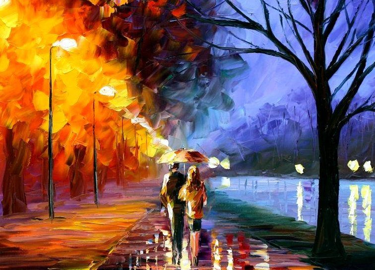 Types Of Artist Paintings Explosion Of Color