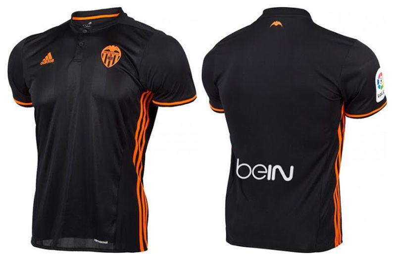 Camisas do Valencia CF 2016-2017 Adidas Reserva