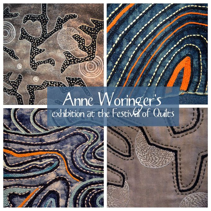 Maryandpatch, Anne Woringer, The Festival of Quilts