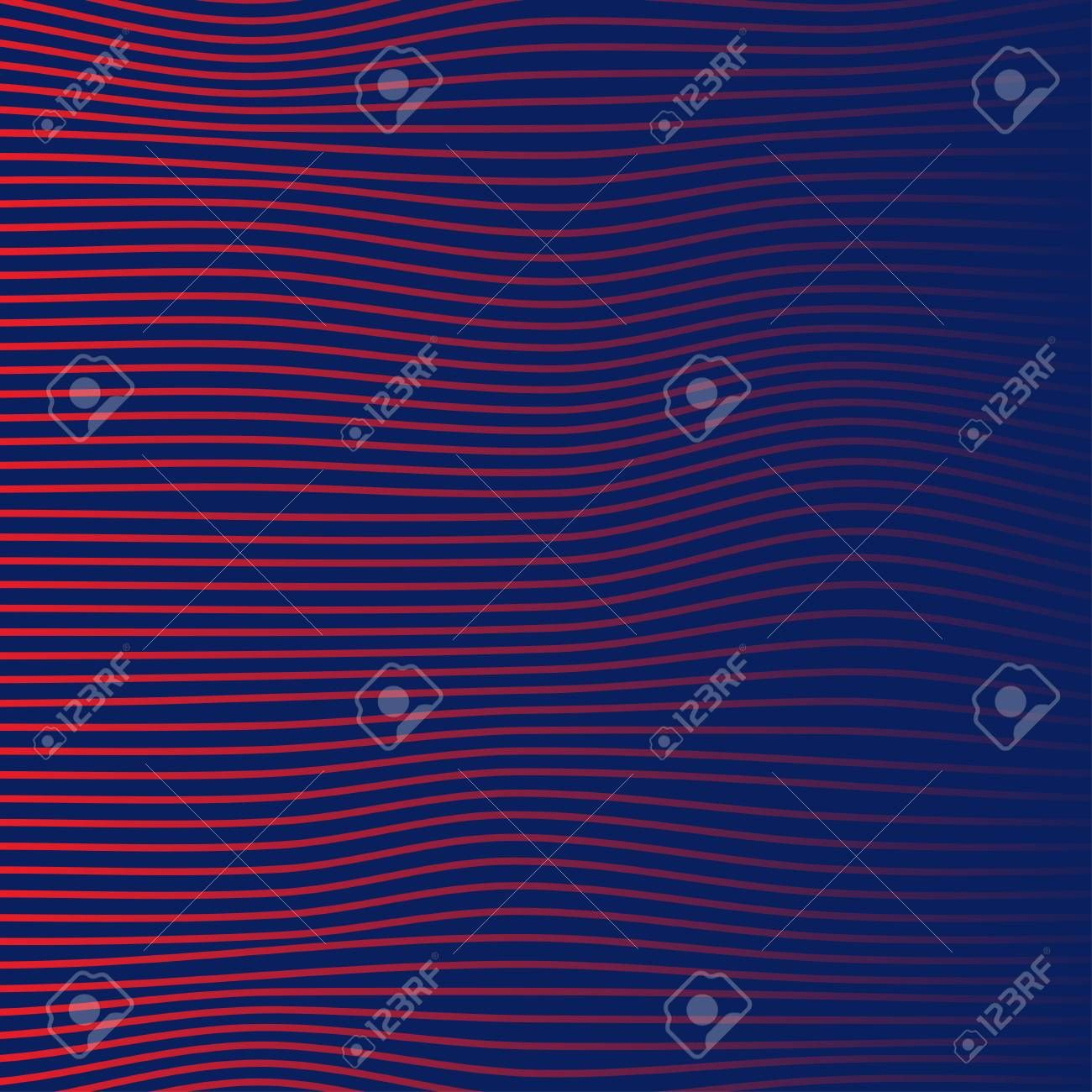 Color Background For Banners Gradient With Wavy Lines