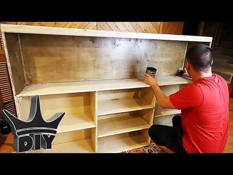 foto de HOW TO: Build an aquarium stand bookshelf - THE OFFICE TANK BUILD ...